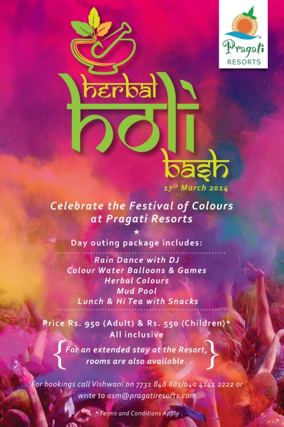 HERBAL HOLI BASH...