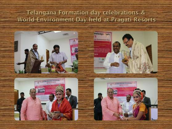 World Environment Day & Telangana State Formation day celebrations