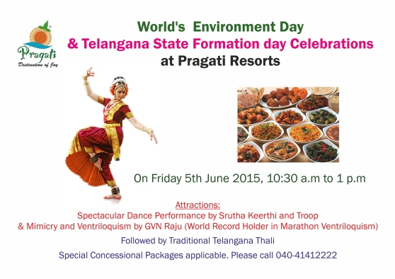 World's  Environment Day & Telangana State Formation day Celebrations