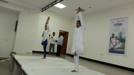 Yoga Day at Pragati - 11