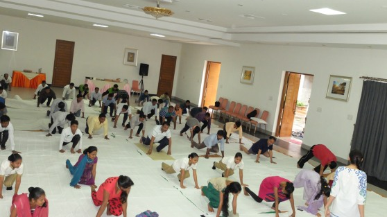 Yoga Day at Pragati - 12