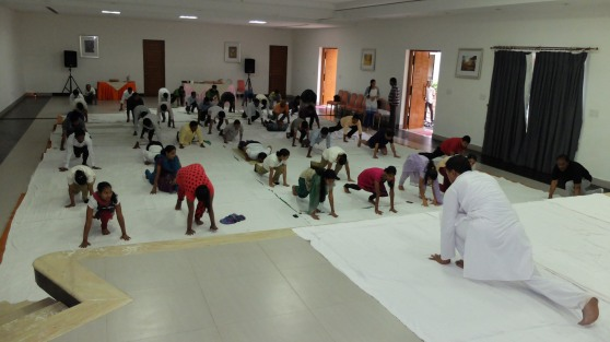 Yoga Day at Pragati - 13