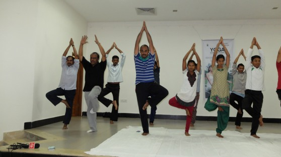 Yoga Day at Pragati - 14