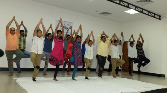 Yoga Day at Pragati - 16