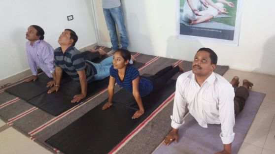 Yoga Day at Pragati - 9